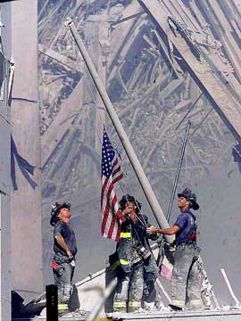 Sep. 13th 2001, Manhattan, NY, USA